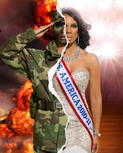 """Raquel Riley Thomas, owner An Officer and Gentlewoman, LLC/Mrs. DC America Organization"""